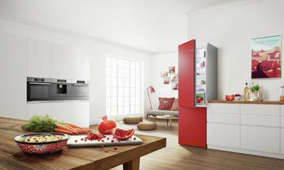 Kühlschrank Gefrierschrank Kombination : Bosch vario style kühl gefrier kombination ruder küchen und